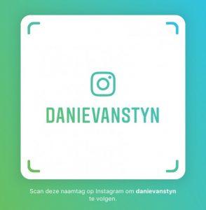 Naamtag Danie van Styn